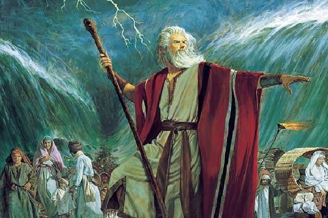крещение в Моисея