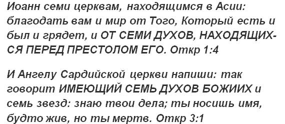 7 духов Божьих